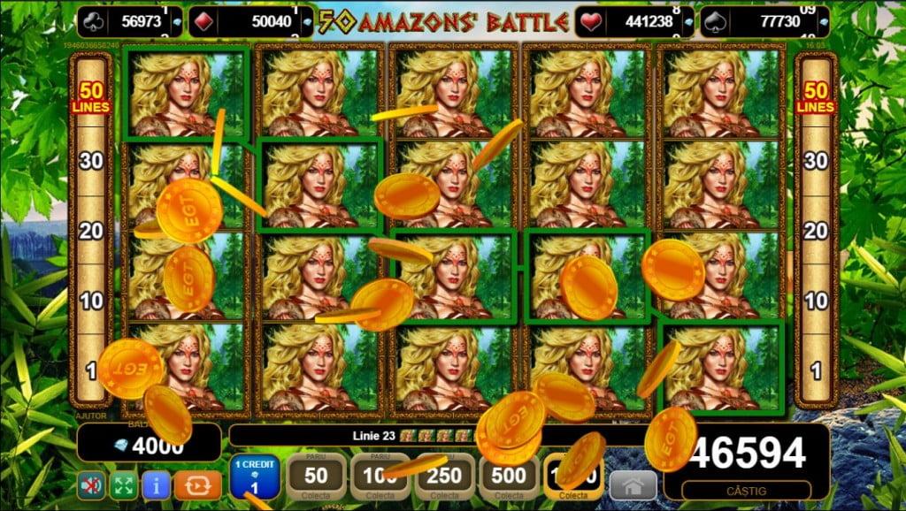 50 Amazons Battle